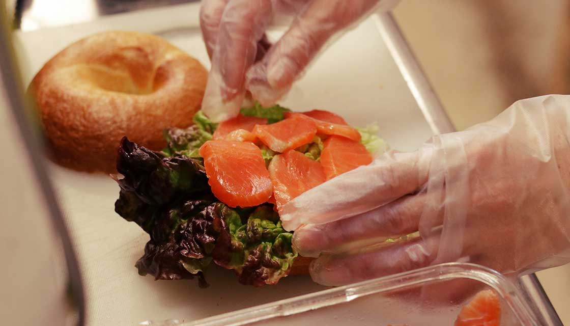 手作りサンドイッチの写真pc
