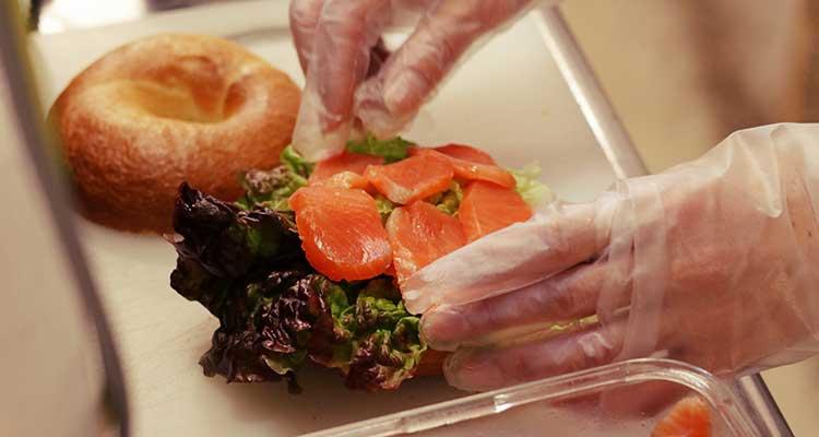手作りサンドイッチの写真sp
